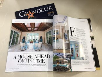 Grandeur Magazine December 2020 A House Ahead of Its Time Article